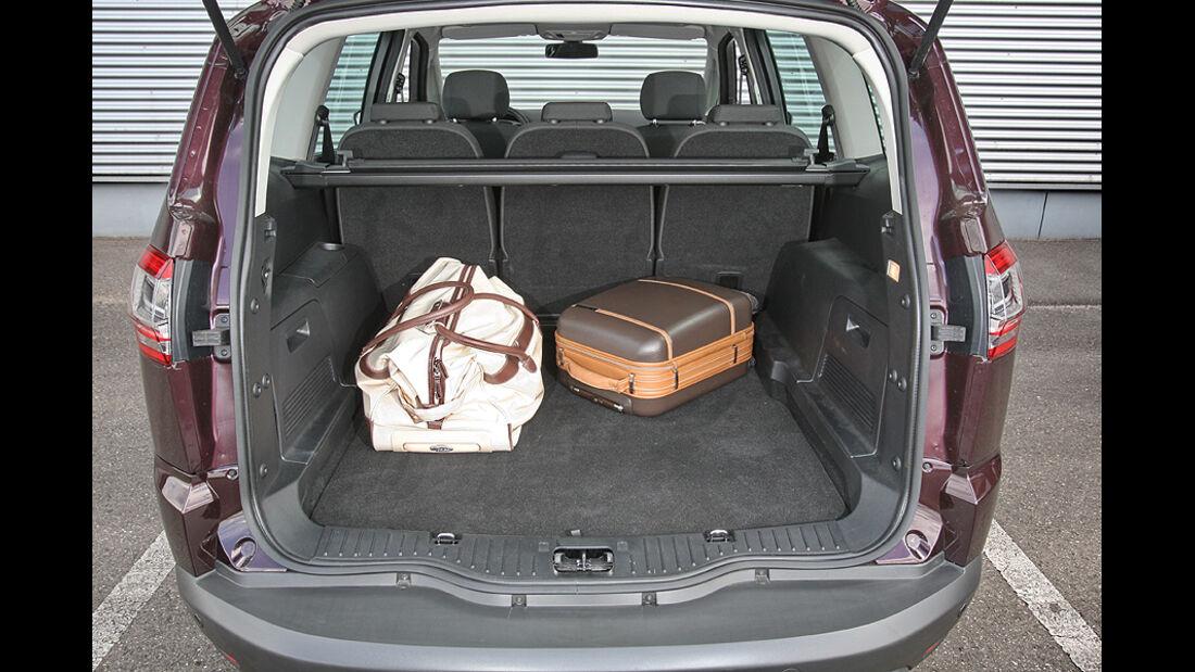Ford S-Max 2.0 Eco-Boost, Kofferraum