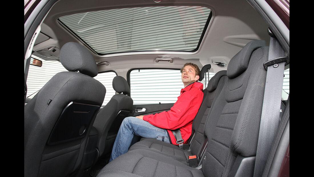 Ford S-Max 2.0 Eco-Boost, Rückbank