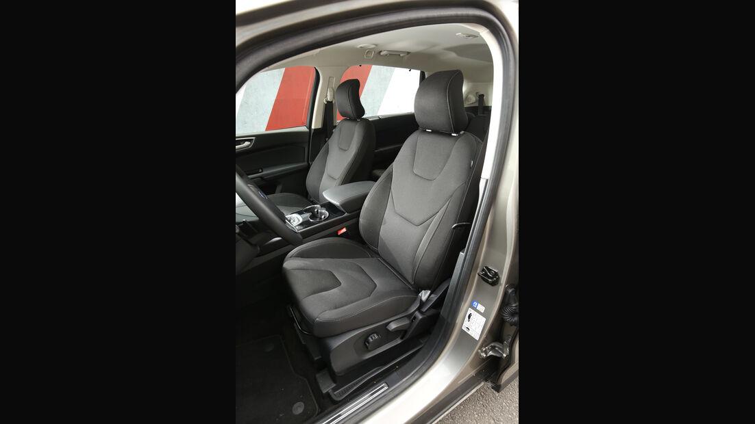 Ford S-Max 2.0 TDCI 4x4, Fahrersitz