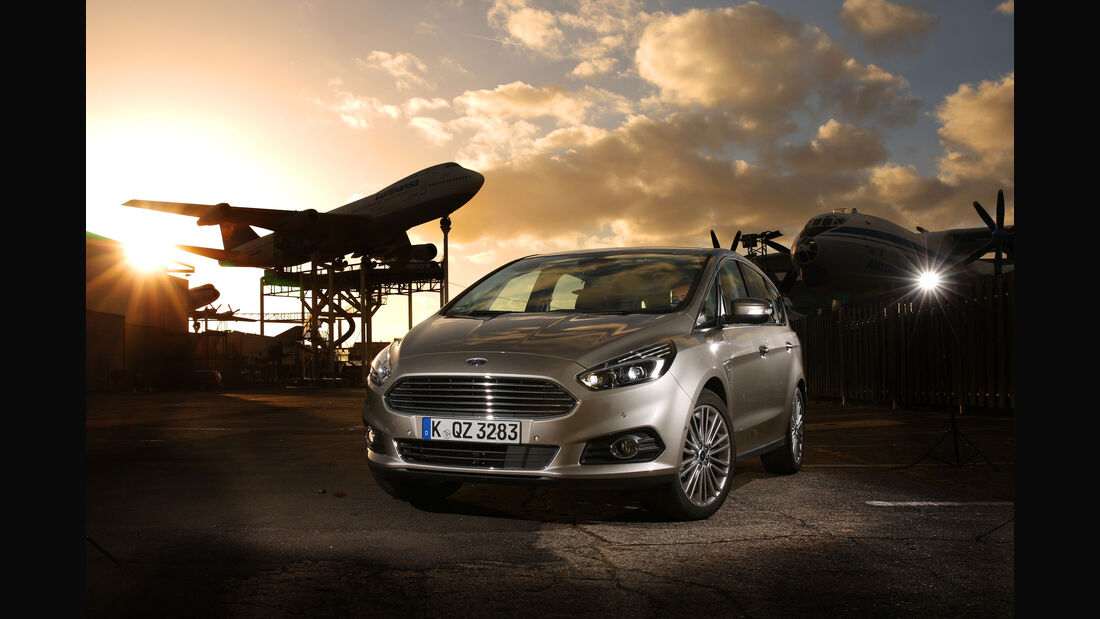 Ford S-Max 2.0 TDCI 4x4, Frontansicht