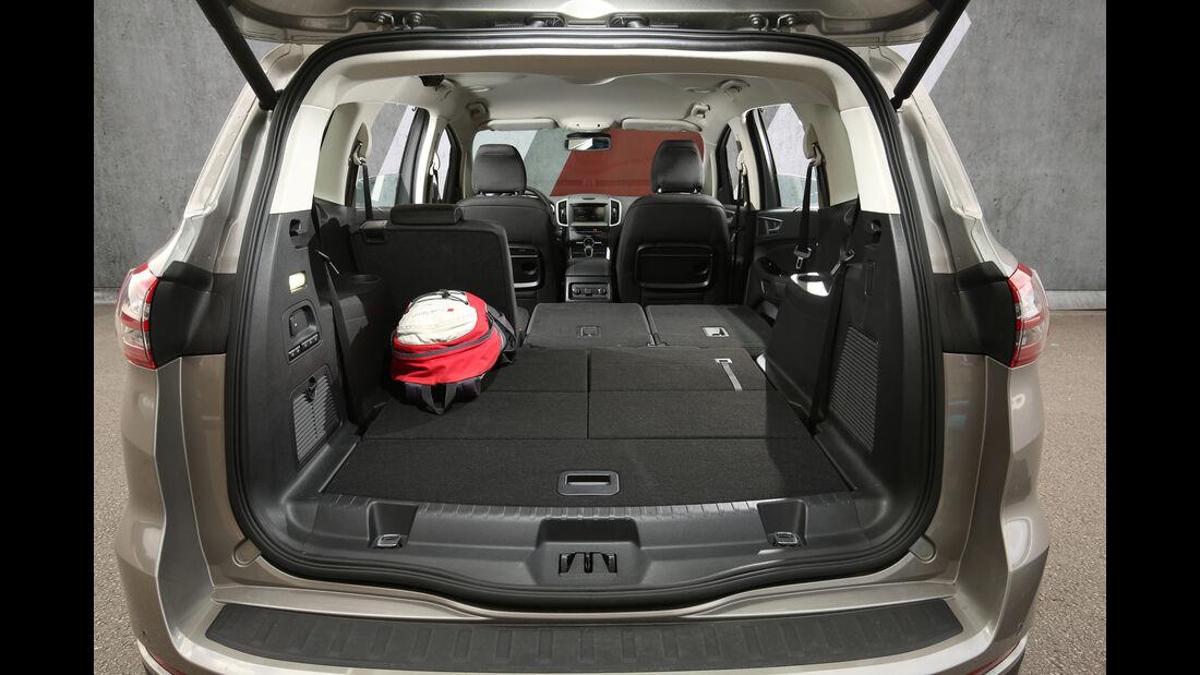 Ford S-Max 2.0 TDCI 4x4, Kofferraum