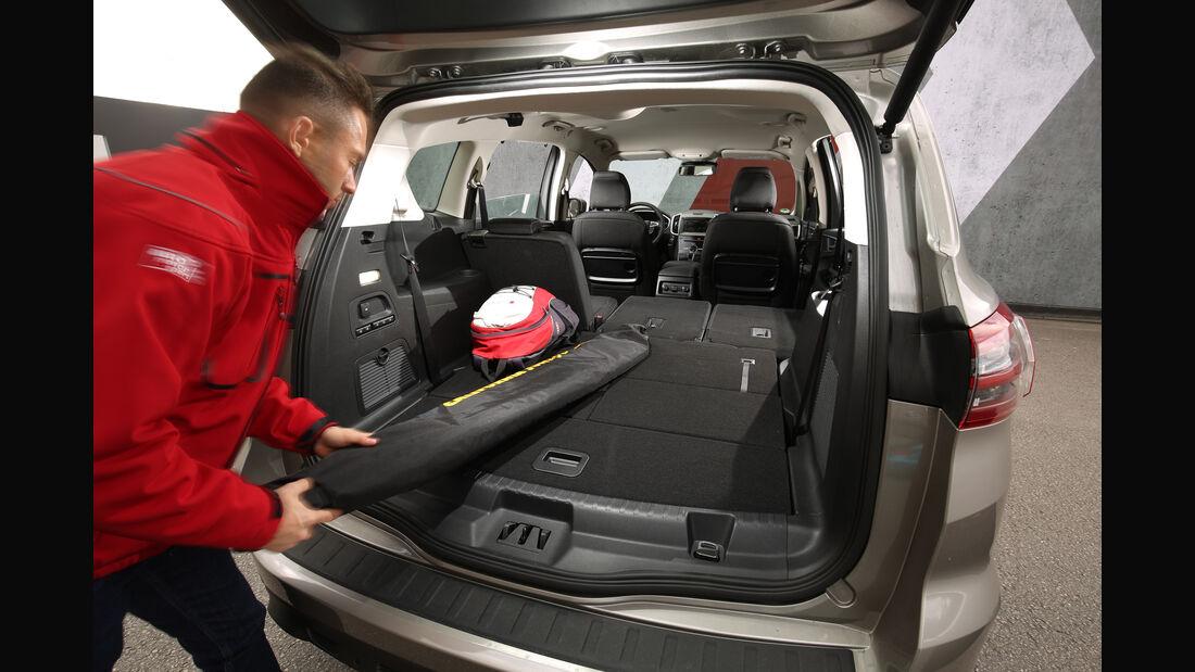 Ford S-Max 2.0 TDCI 4x4, Kofferraum, Sitze umklappen