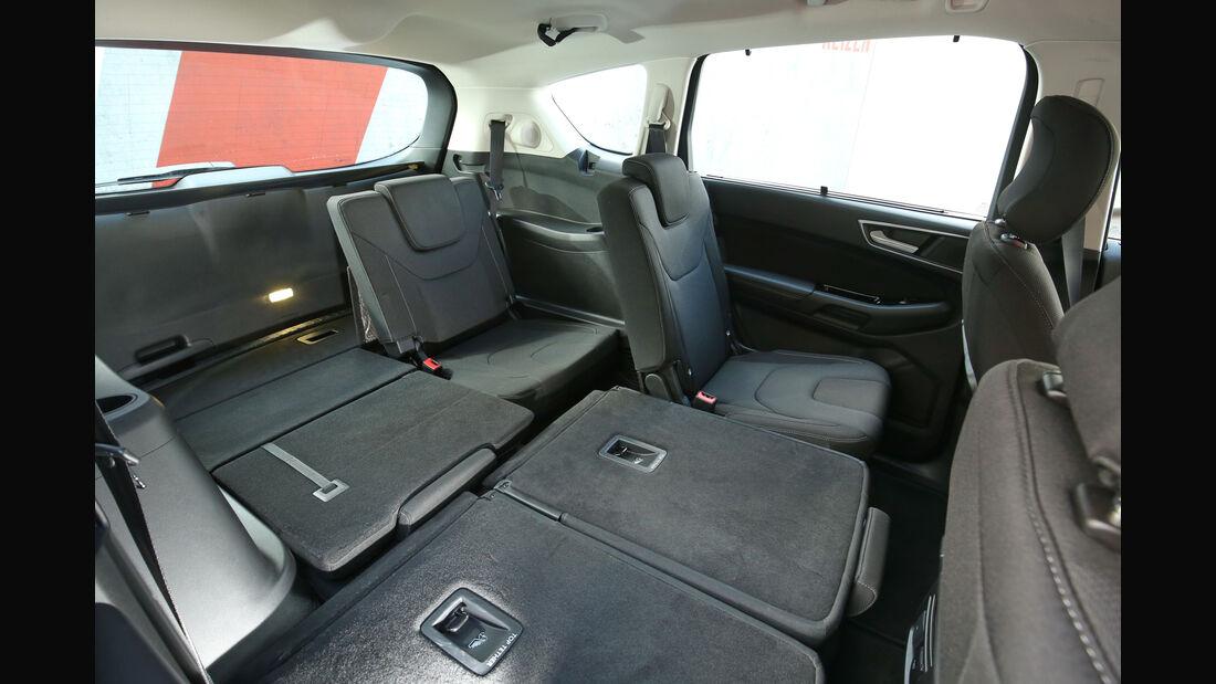 Ford S-Max 2.0 TDCI 4x4, Sitze umklappen