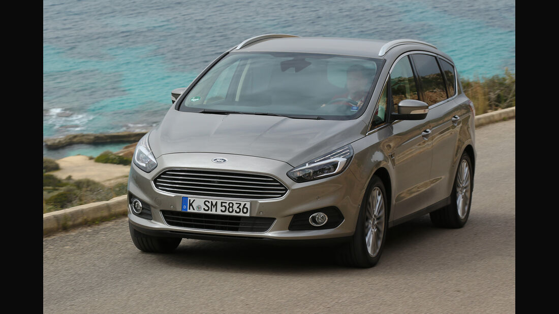 Ford S-Max 2.0 TDCi, Frontansicht