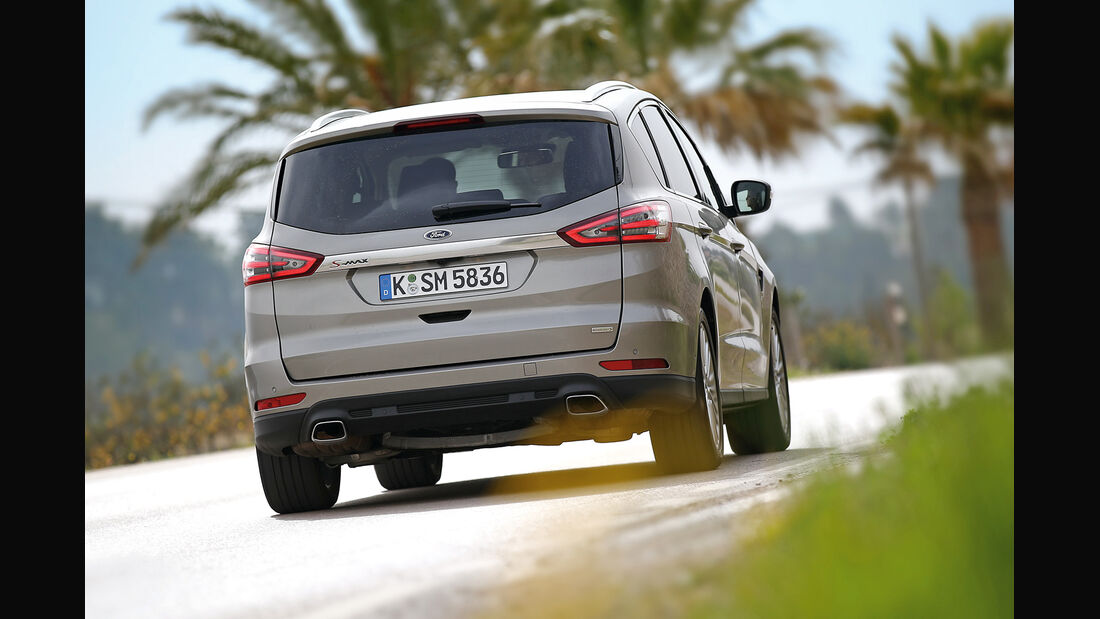 Ford S-Max 2.0 TDCi, Heckansicht