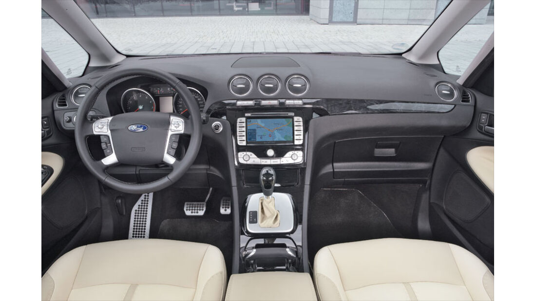 Ford S-Max, Cockpit