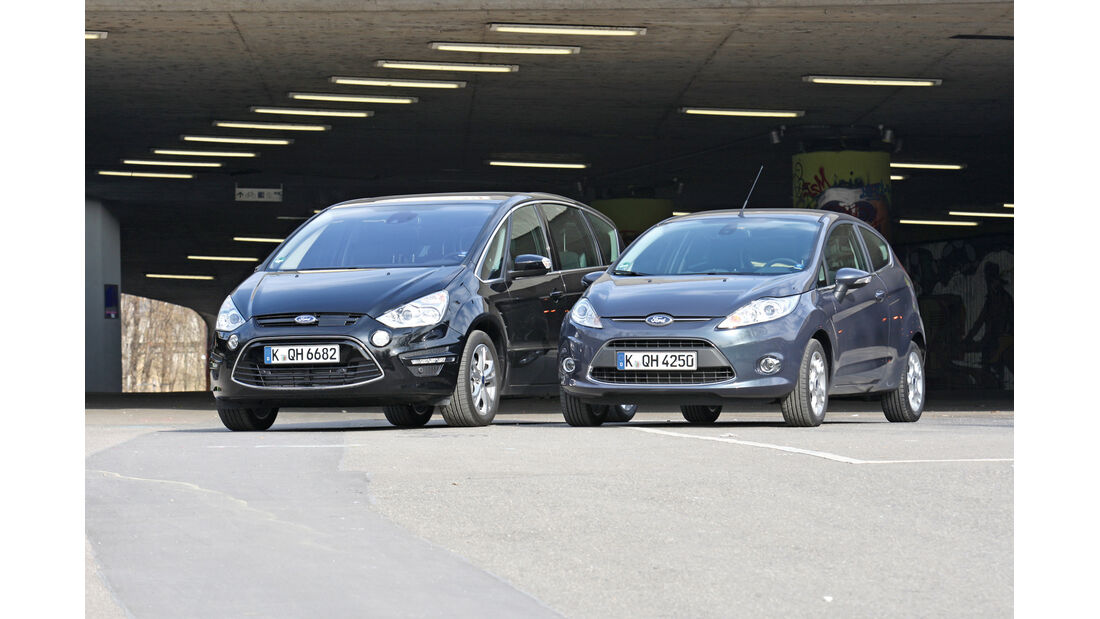 Ford S-Max, Ford Fiesta, Frontansicht