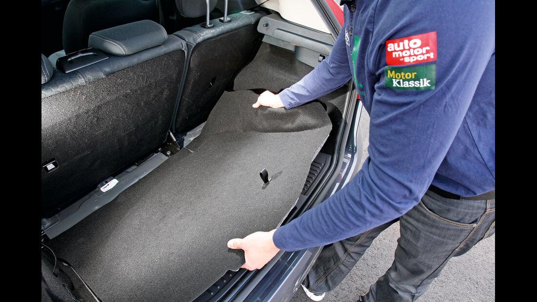 Ford S-Max, Ford Fiesta, Kofferraum