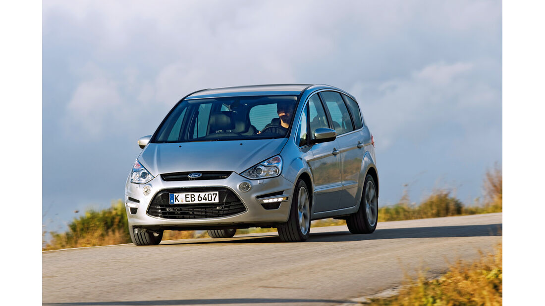 Ford S-Max, Fronatnsicht