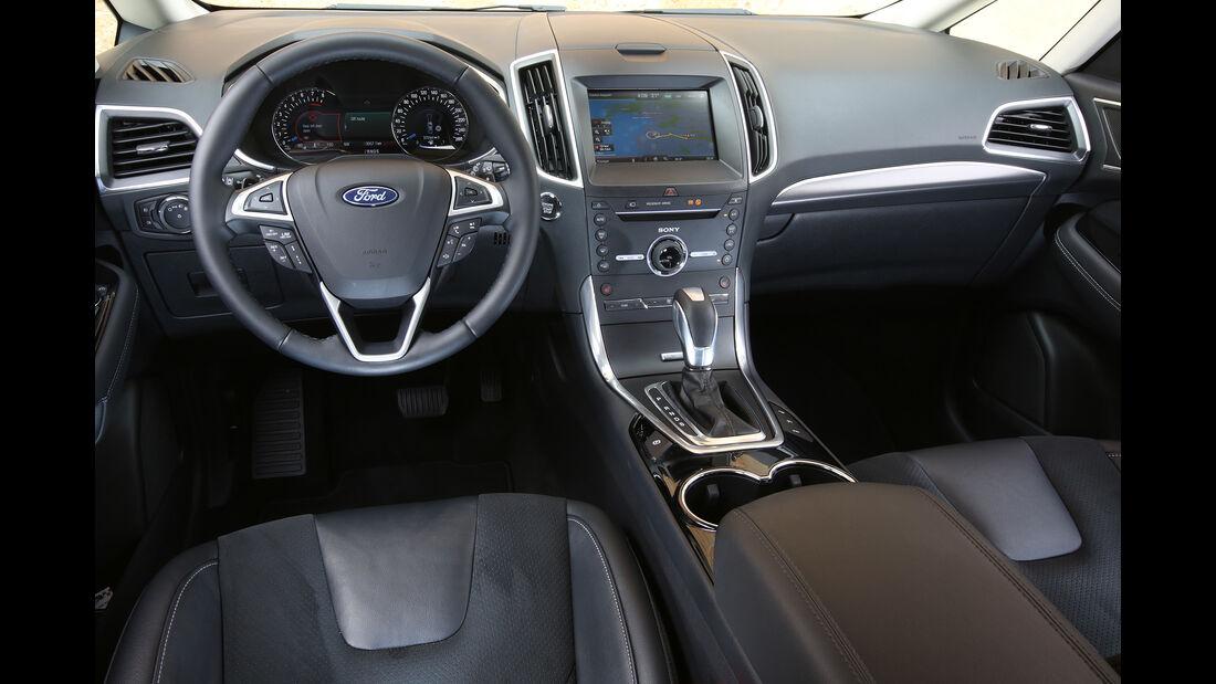Ford S-Max, HDS, Innenraum, Multifunktionslenkrad