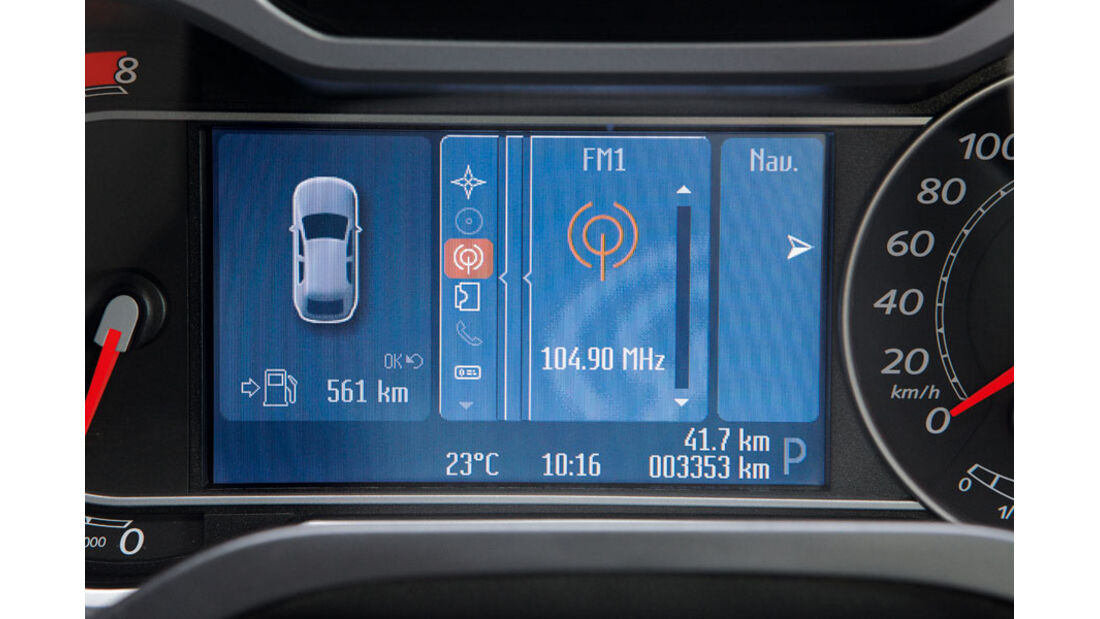 Ford S-Max, Informationssystem