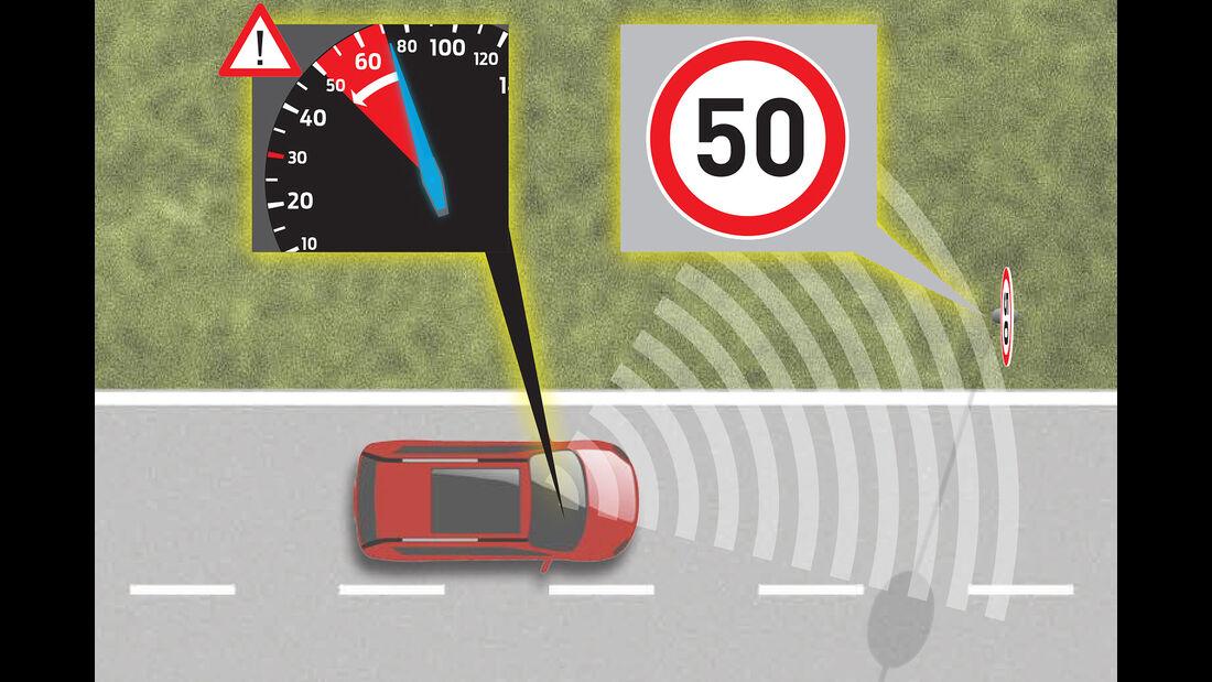 Ford S-Max, Innenraum, Navigationssystem