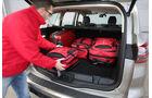 Ford S-Max, Kofferraum