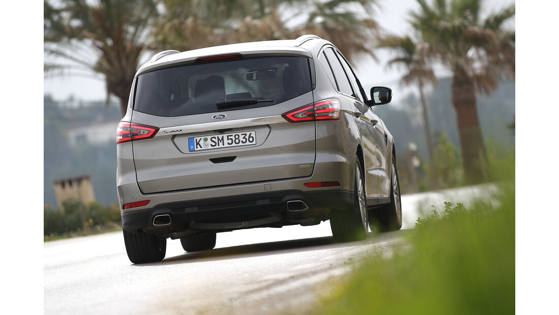 Ford S-Max, Motor