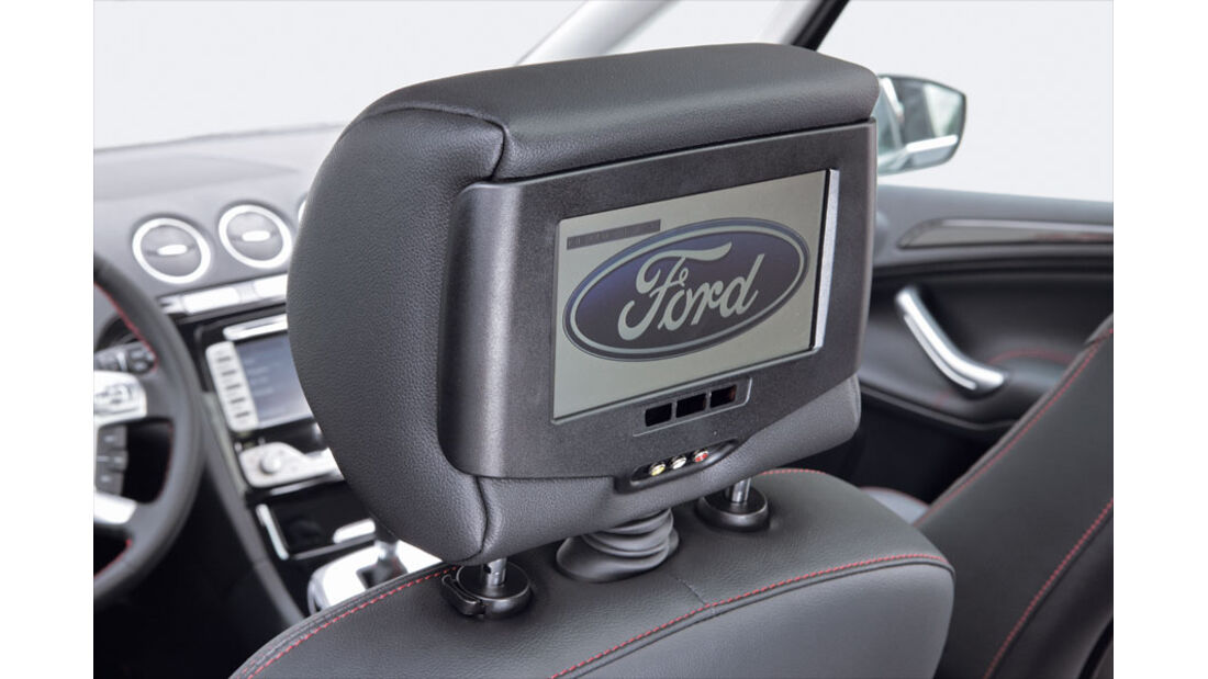 Ford S-Max, Multimedia-System