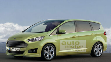 Ford S-Max Retusche