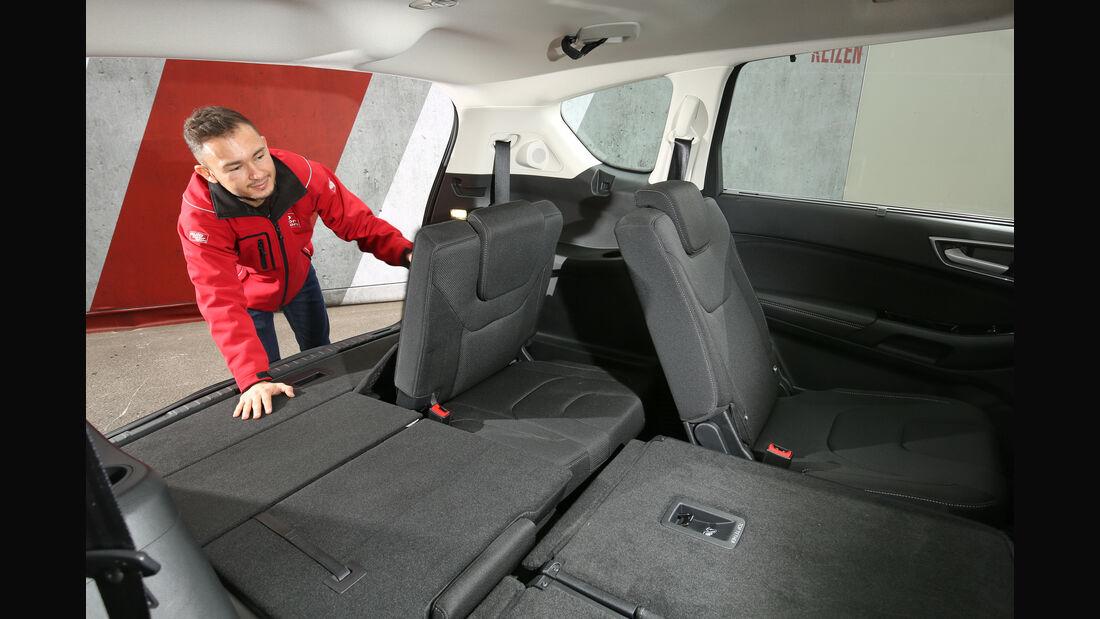Ford S-Max, Sitze, Umklappen