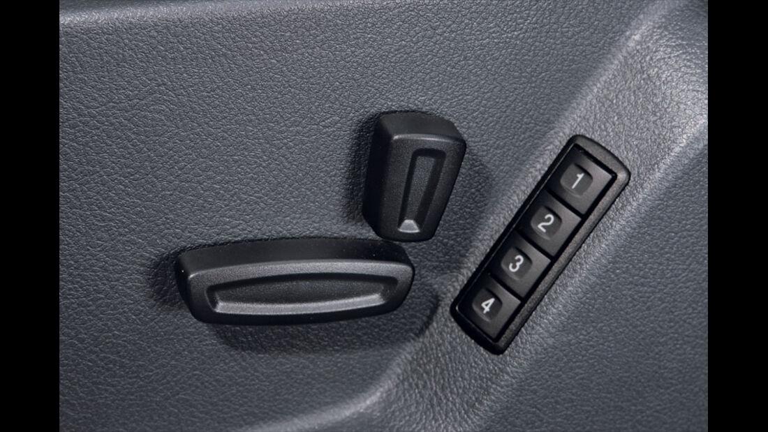 Ford S-Max, Sitzverstellung
