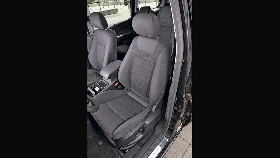 Ford S-Max, Sportsitze