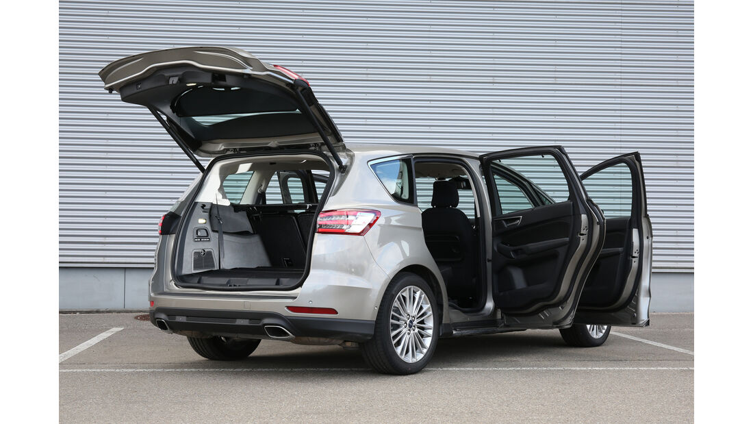 Ford S-Max, Türen