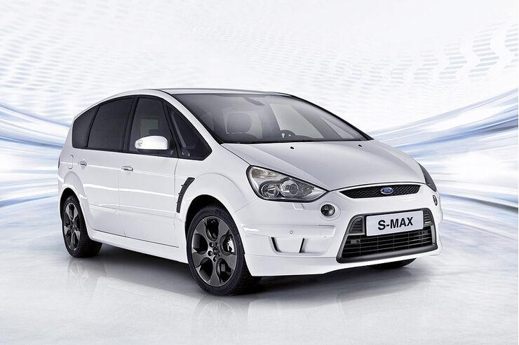 Ford S-Max White Magic