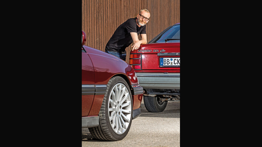 Ford Scorpio 2.0i Ghia, Opel Omega 2.6i CD Diamant, Michael Orth