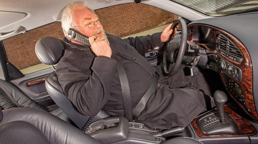 Ford Scorpio II, Cockpit, Lenkrad, Malte Jürgens