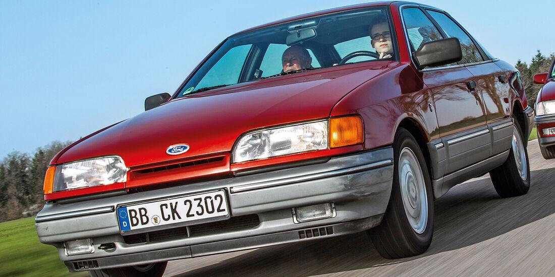 Ford Scorpio MK I, Frontansicht