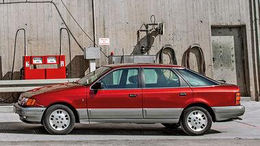 Ford Scorpio MK I, Seitenansicht