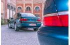 Ford Scorpio Mk2 2.9I, Opel Omega B Mv6, Heck