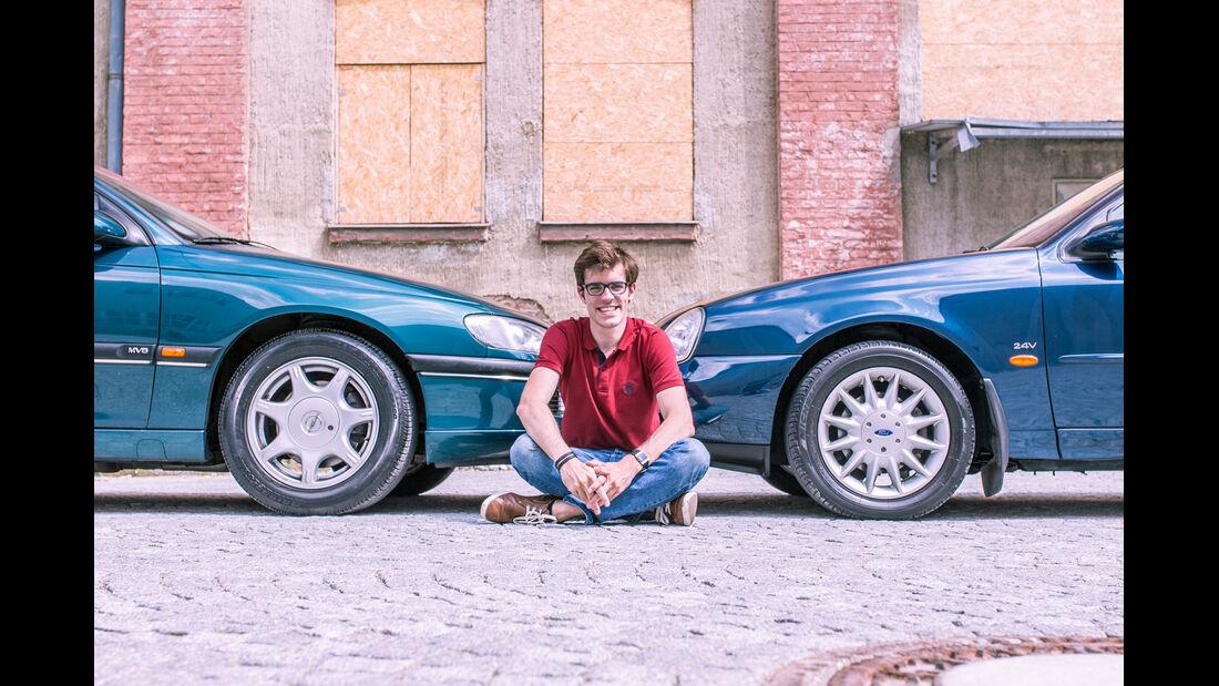 Ford Scorpio Mk2 2.9I, Opel Omega B Mv6, Michael Eiden