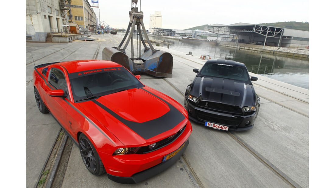 Ford Shelby GT500, Ford Mustang RTR