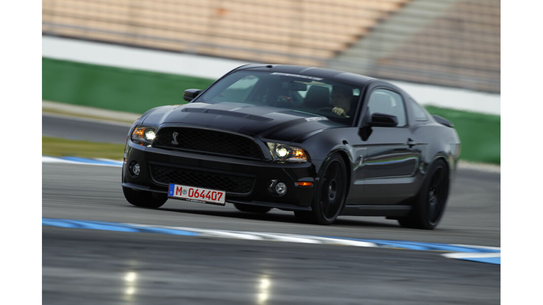 Ford Shelby GT500, Front