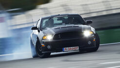 Ford Shelby GT500, Front, Qualm, Drift