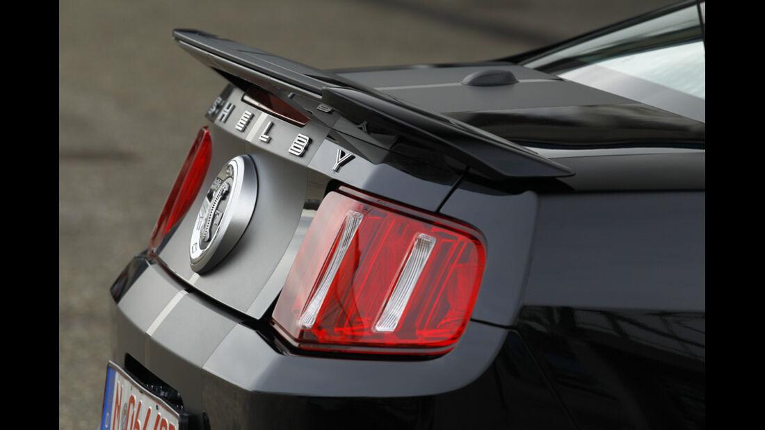 Ford Shelby GT500, Kofferraumtür