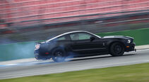 Ford Shelby GT500, Seite links, Qualm