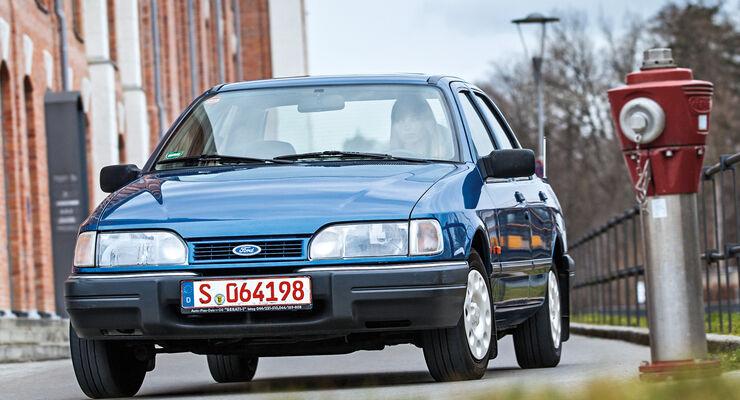 Ford Sierra 2.0i, Frontansicht