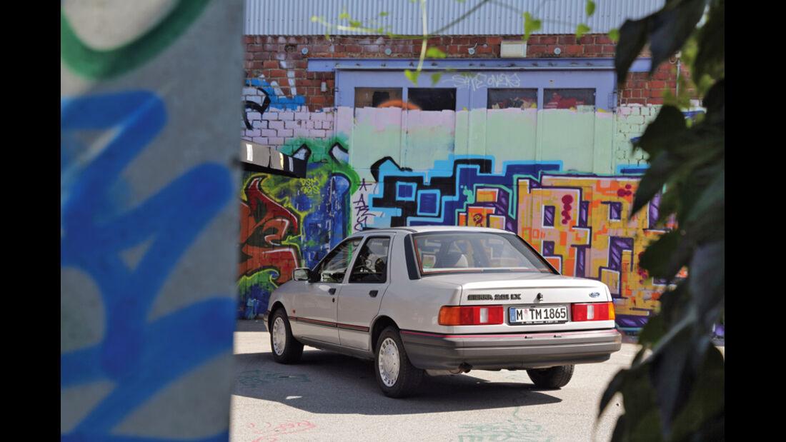 Ford Sierra 2.0i LX, Heck