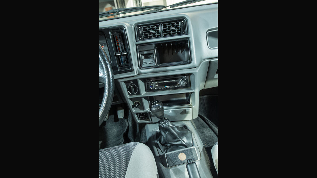 Ford Sierra 2.0i, Mittelkonsole
