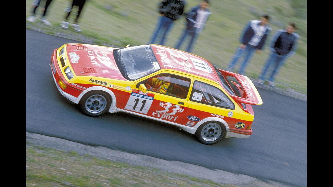 Ford Sierra 4 x 4, Rallye Korsika