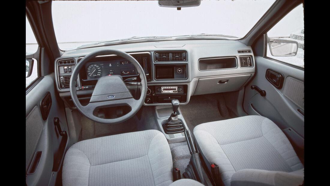 Ford Sierra, Cockpit