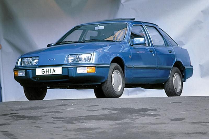 Ford Sierra, Urversion