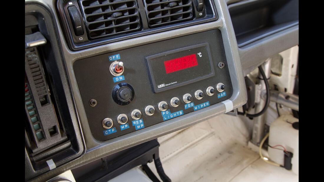 Ford Sierra XR4 Ti, Bedienelemente
