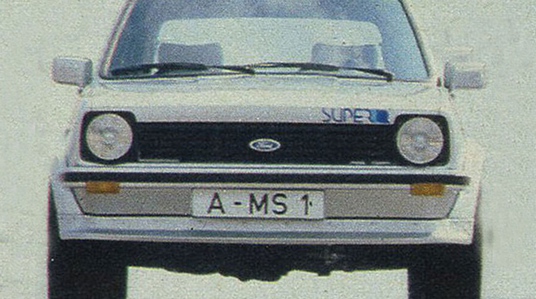 Ford, Super-Fiesta, IAA 1979