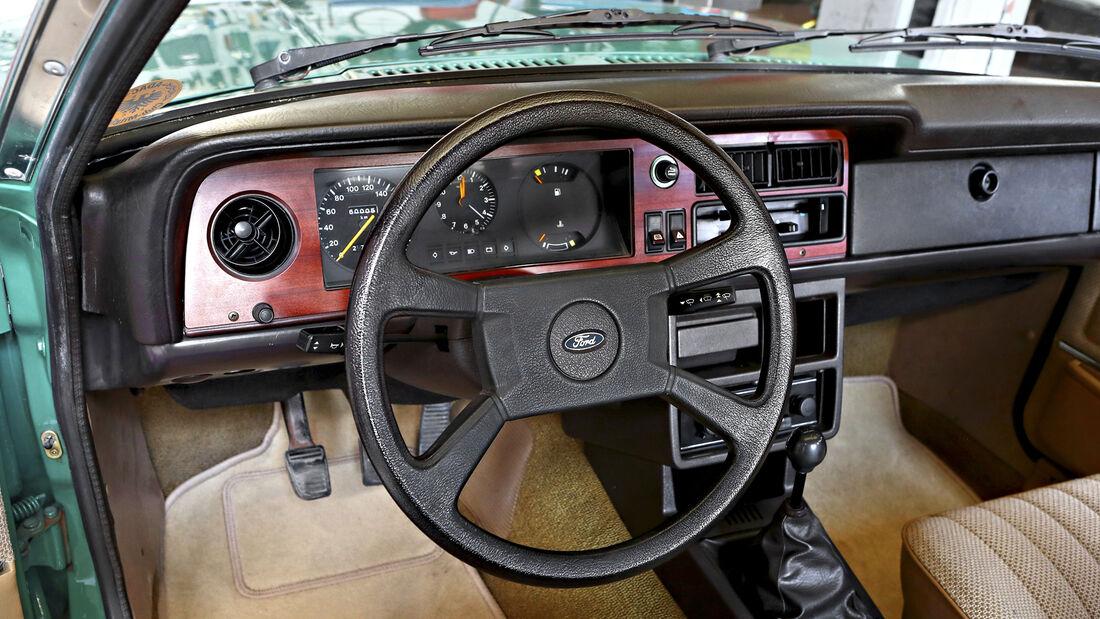 Ford Taunus 1600 L, Interieur