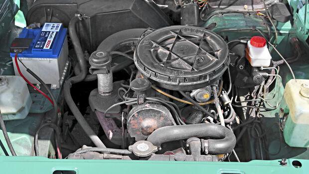 Ford Taunus 1600 L, Motorraum