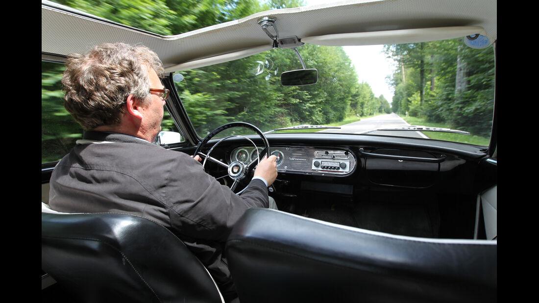 Ford Taunus 17 M P3, Cockpit, Alf Cremers