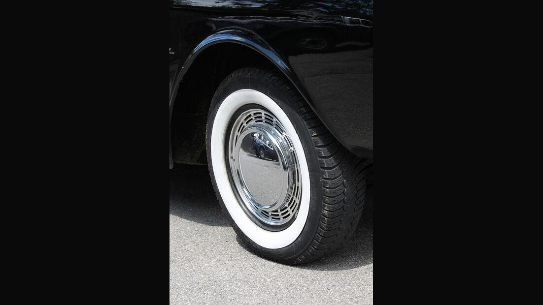 Ford Taunus 17 M P3, Rad, Felge
