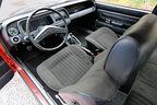 Ford Taunus 2300 GXL, Cockpit, Lenkrad
