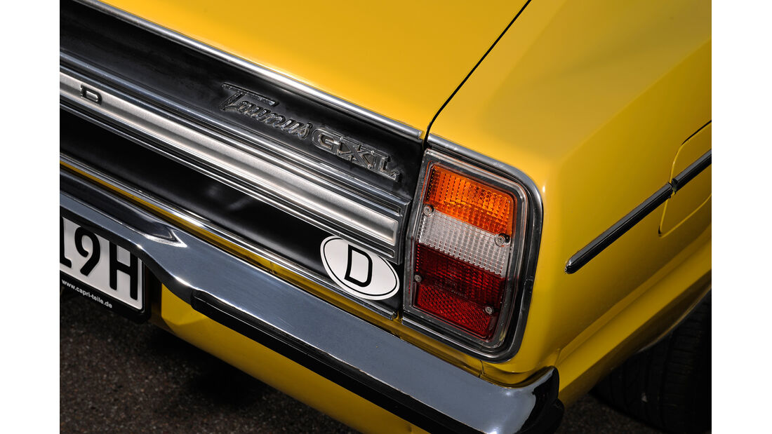 Ford Taunus 2300 GXL, Heckleuchte